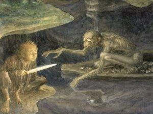 illustration-d-Alan-Lee-The-Hobbit-