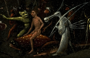 Bosch,_Hieronymus_-_The_Garden_of_Earthly_Delights,_right_panel_-_man_riding_on_dotted_fish_and_bird_creature