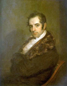 Portrait of Washington Irving