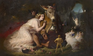 Edwin_Landseer_-_Scene_from_A_Midsummer_Night's_Dream._Titania_and_Bottom_-_Google_Art_Project