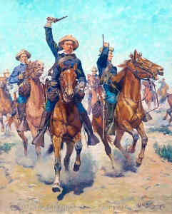 SCHREYVOGEL_Charles_Cavalry_Charge_1905_Wadsworth_Athenaeum_source_Sandstead_d2h_