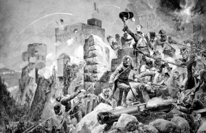 Siege_of_Badajoz,_by_Richard_Caton_Woodville_Jr