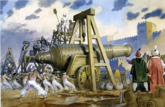 Illustration-of-angus-mcbride-showing-the-ottoman-cannon-basilica-during-the-siege-of-constantinople-in-1453-ad.jpg