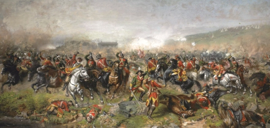 John_Mulvany_-_The_Battle_of_Aughrim.1691