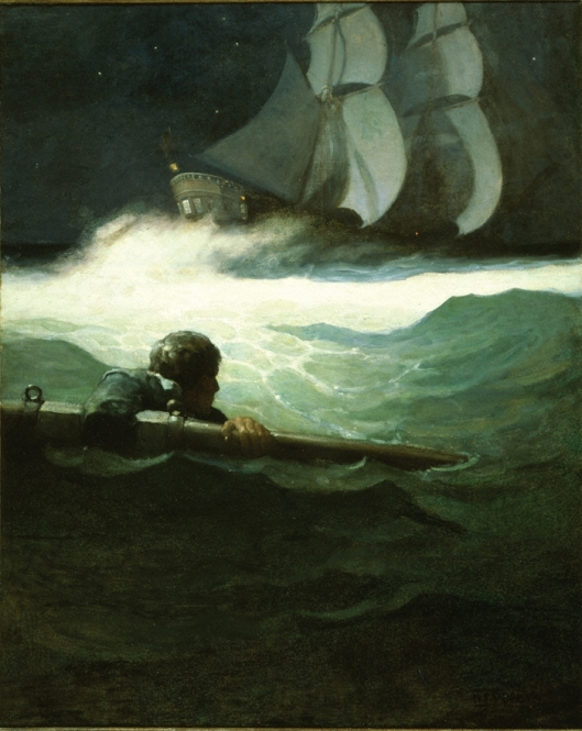 Wyeth Kidnapped Wreck of the Covenant