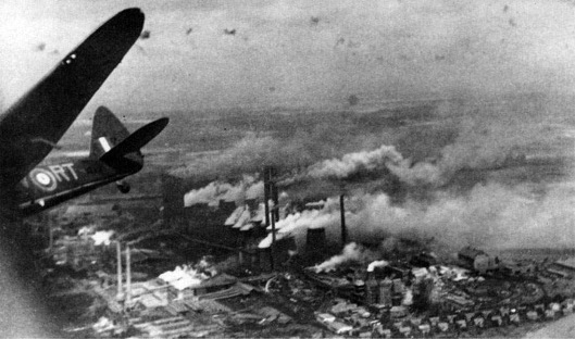 Copy of RAF Blenheim V6391 After Bombing Goldenburg Power Station, Cologne