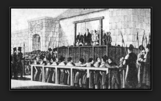 executionofludditesatyork1813