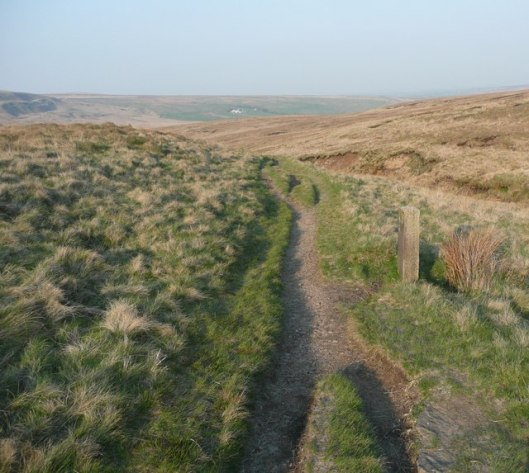 The_Marsden_pack_horse_road,_Marsden_-_geograph.org.uk_-_826758