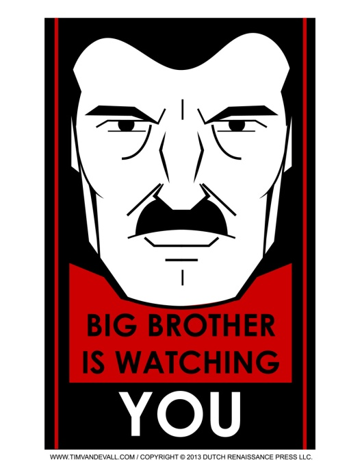 Big-Brother-Is-Watching-You-Poster