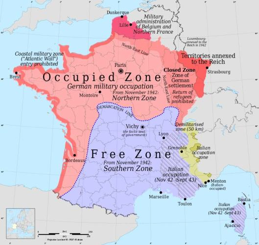 France-occupation