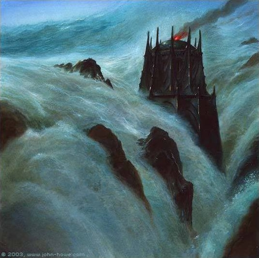 John_Howe_-_The_Drowning_of_Numenor